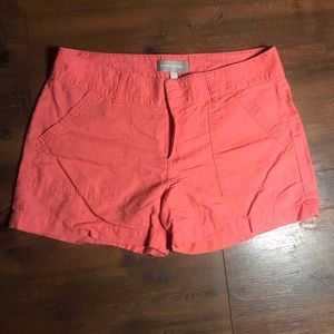 Banana Republic Peachy Pink Shorts